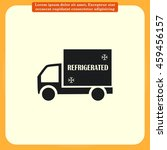 delivery sign icon  vector... | Shutterstock .eps vector #459456157