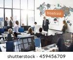 broadcast communication... | Shutterstock . vector #459456709