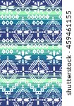tribal navajo print over... | Shutterstock .eps vector #459461155