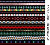 tribal bead stripes | Shutterstock .eps vector #459464779