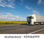 truck on highway  motion blur | Shutterstock . vector #459466999