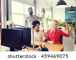 business  startup and office... | Shutterstock . vector #459469075