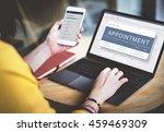 agenda appointment plan program ... | Shutterstock . vector #459469309