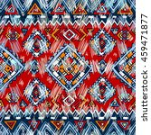 traditional tribal pattern in... | Shutterstock .eps vector #459471877
