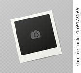 blank photo frame  different... | Shutterstock .eps vector #459476569