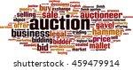 auction word cloud concept.... | Shutterstock .eps vector #459479914