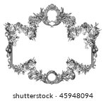 luxuriously illustrated old... | Shutterstock . vector #45948094