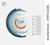circle infographic template... | Shutterstock .eps vector #459512281