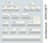 isometric computer white... | Shutterstock .eps vector #459513877