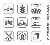 Set Of 9 Agricultural And...