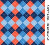 seamless argyle pattern.... | Shutterstock .eps vector #459523399