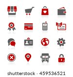 online store icons | Shutterstock .eps vector #459536521
