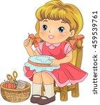 illustration of a female... | Shutterstock .eps vector #459539761