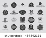 vintage logos design templates... | Shutterstock .eps vector #459542191