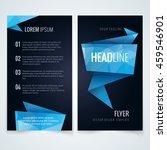 vector modern flyer  poster or... | Shutterstock .eps vector #459546901