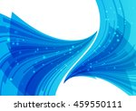 blue abstract background ... | Shutterstock .eps vector #459550111