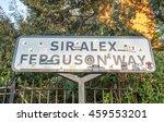 manchester   may 22  sir alex... | Shutterstock . vector #459553201