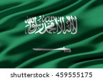 close up of ruffled flag of...   Shutterstock . vector #459555175