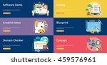 creative process conceptual... | Shutterstock .eps vector #459576961