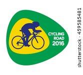 cycling road icon  rio icon ...   Shutterstock .eps vector #459585481