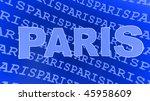 capital  france paris sign | Shutterstock . vector #45958609