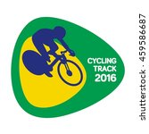 cycling track icon  vector... | Shutterstock .eps vector #459586687