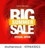 summer sale template banner | Shutterstock .eps vector #459643021