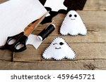 Handmade Halloween Ghost Doll....