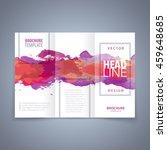 vector modern flyer  poster or... | Shutterstock .eps vector #459648685
