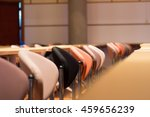 chairs in the meeting room. | Shutterstock . vector #459656239