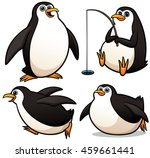 vector illustration of cartoon... | Shutterstock .eps vector #459661441