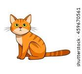 cute cat | Shutterstock .eps vector #459670561