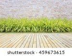 old hardwood decking or... | Shutterstock . vector #459673615