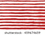 hand drawn watercolor dark red ... | Shutterstock . vector #459674659