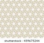 seamless islamic pattern of... | Shutterstock .eps vector #459675244