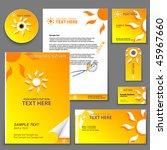 easy to edit vector orange...   Shutterstock .eps vector #45967660