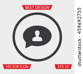 people chat icon   vector...