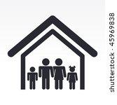 vector illustration of modern... | Shutterstock .eps vector #45969838