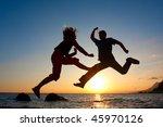 jump | Shutterstock . vector #45970126