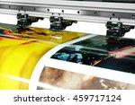 large printer format inkjet... | Shutterstock . vector #459717124