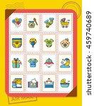 icon set  baby vector   Shutterstock .eps vector #459740689