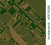 industrial electronic high tech ... | Shutterstock . vector #45974200