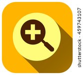 zoom in icon  vector logo for...