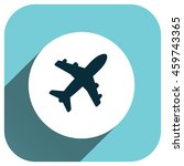 airplane icon  vector logo for...