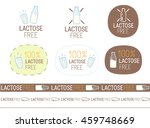 vector lactose free signs