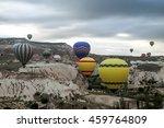 cappadocia  turkey. july 2012.... | Shutterstock . vector #459764809