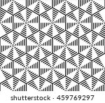sophisticated seamless pattern... | Shutterstock .eps vector #459769297