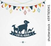 Eid Al Adha With Chain Flag ...