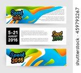 summer sport 2016  design for...   Shutterstock .eps vector #459793267
