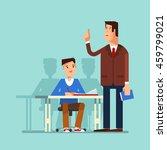 vector illustration of a school ...   Shutterstock .eps vector #459799021